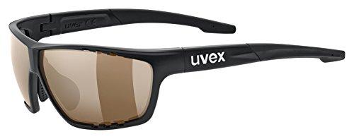 Uvex Sportstyle 706 cv Sportbrille, Black mat, One Size
