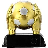 World Cup Trophy, Sport Football League Gedenk-Trophäe Kopie Version Soccer Referee Schriftzug Version - Gold