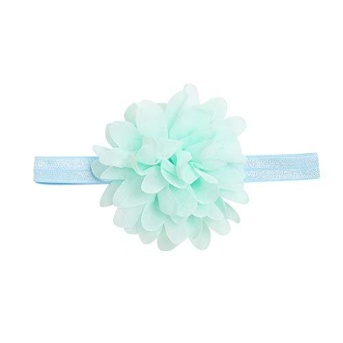 Cuteelf Baby Kinder Haarband Mädchen Stirnband Kopfband Blumen Haarschmuck Headband Arbeiten Sie nettes schönes süßes Kindermädchen Baby kopftuchkleinkind-Blumenhaarband um