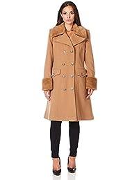 Amazon.it  cappotto cammello - 38   Donna  Abbigliamento 6a7056e156e