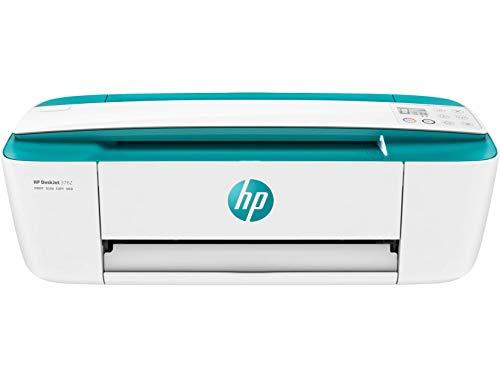 HP DeskJet 3762 T8X23B Stampante Multifunzione a Getto di Inchiostro, Stampa, Scannerizza, Fotocopia, con Wi-Fi e Wi-Fi Direct, 2 Mesi di HP Instant Ink Inclusi, Foglia di Tè