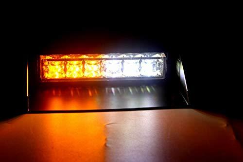 6 W 6led Voiture Tableau de bord pare-brise Strobe Clignotant d'urgence Feux d'avertissement