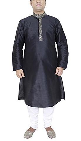 Mens Clothes Long Sleeve Kurta Pajama Wedding Indian Party Wear