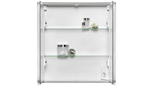 JOKEY Spiegelschrank Marno Breite 65 cm, mit Beleuchtung weiß -
