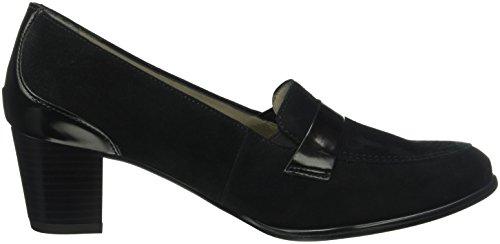 araMonaco - Scarpe con Tacco Donna Nero (Nero (01 nero))