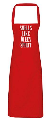 hippowarehouse riechen wie Queen Spirit Schürze Küche Kochen Malerei DIY Einheitsgröße Erwachsene, rot, (Queen Red Kostüm Diy)