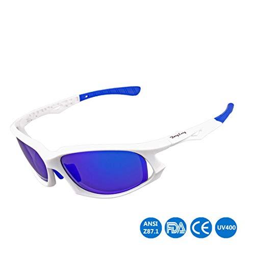 Yiph-Sunglass Sonnenbrillen Mode Unisex-Erwachsene Coole polarisierte Sport-Sonnenbrillen für Outdoor-Radfahren Baseball Laufen Angeln Golf (Farbe : A004)