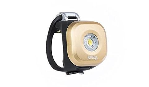Knog Blinder Mini Dot Front Headlight, Gold