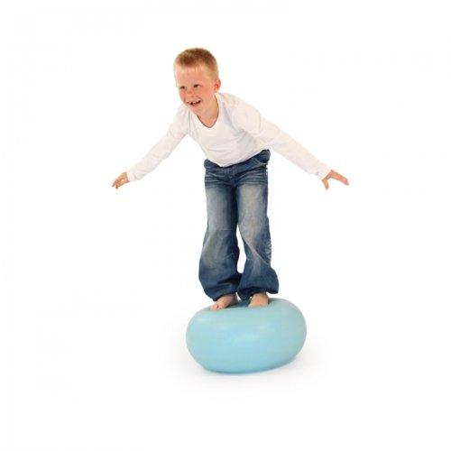 Balance Gymnastikball Donut Ball mit Luftpumpe inSPORTline
