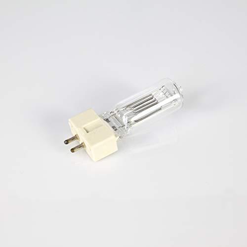 showking Set aus 5 x Halogenlampen 230V / 1000W / Sockel GX-9,5 / 3200K / weiß - Ersatz-Leuchtmittel für Verfolgerspots -