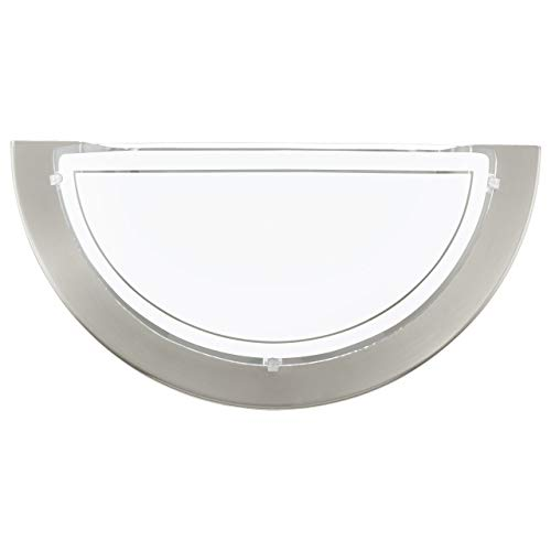 EGLO PLANET 1 Wandleuchte, Stahl, 60 W, nickel-matt -