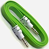 #9: PNP Flat Aux Stereo 3.5mm Music Transfer Cable for Mobiles and Speakers (Color May Vary)