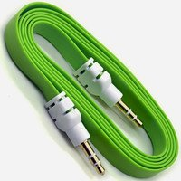 PNP Flat Aux Stereo 3.5mm Music Transfer Cable for Mobiles...