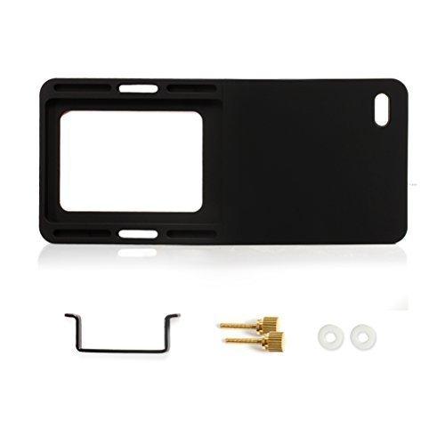 Boge - Placa de montaje adaptadora de mano para GoPro Hero 6/5/4/3+, Zhiyun Smooth Q, y DJI OSMO, negro