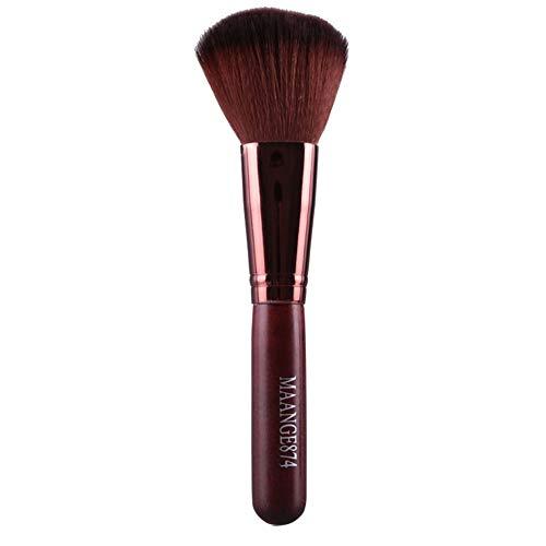 Kit De Pinceau Maquillage Professionnel1Pcs Maquillage Pinceau Brosse De Fond Poudre Blush Maquillage Brosse CosméTique Pinceau à LèVre avec Sac Nois