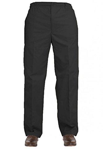 Taboo fashion clothing Herren Hose schwarz schwarz Schwarz