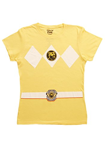 Ranger Fancy dress costume T-Shirt X-Large (Womens Power Ranger Kostüm)