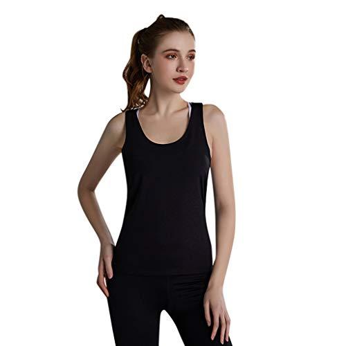 Push Up Frauen Sleeveless T-Shirt Sommer Yoga Weste Teens Fitness Solide Tops Sportswear Weste Unterwäsche ()