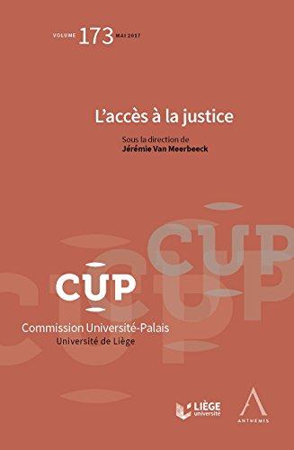 L'accès à la justice: CUP 173