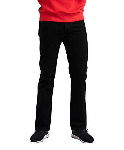 Levis Shrink To Fit-jeans (Levi's Herren Jeans Levi' 501 Original Fit Schwarz 30W x 30L)