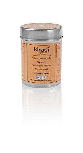 Khadi Kräuter Gesichtsmaske mit Orangen