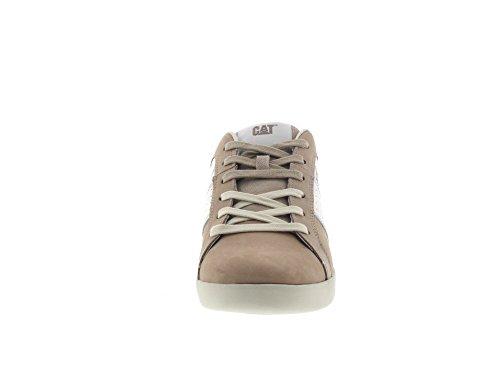 Sneaker Cat Semplice Beige Calzature weiss Dosaggio Taupe r0aE0