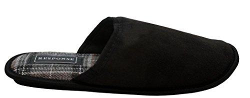 A&H Footwear ,  Herren Pantoletten Schwarz