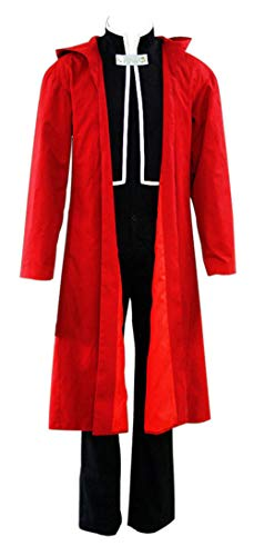 Chong Seng CHIUS Cosplay Costume Outfit for Elric Edward Version 1