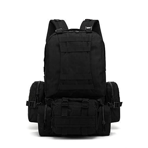 Bfmyxgs Stylish Trekking Bag für Herren Damen Unisex Multicolor Reißverschluss Taktische Tarnung mit Militär Sling Assault Pack Militärischer Taktischer Rucksack Kampfrucksack Outdoor-Umhängetaschen