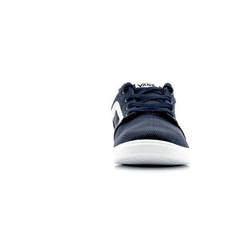 VANS CHAPMAN LITE A38J3LOK Les chaussures de bébé bleu baskets tissu léger Blue / White