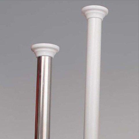 Grund Tringle Ressort en Aluminium Blanc 125 cm à 220 cm