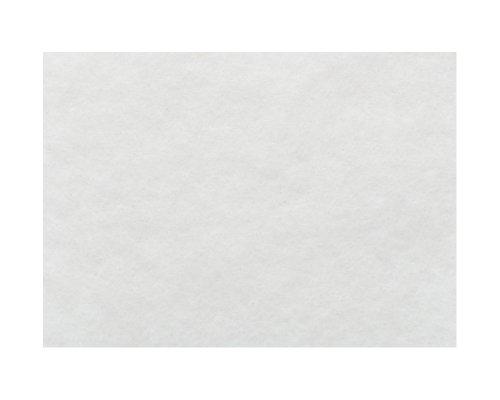 KnorrPrandell 2506101 - Feltro di lana merino 190 x 14 cm in sacchetto colore: Bianco - Feltro Bianco