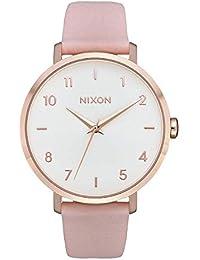 49a1714311b5 Nixon Reloj Analógico para Mujer de Cuarzo con Correa en Cuero A1091-3027-00