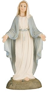 55-Our-Lady-Miraculous-Florentine-Resin-Statue