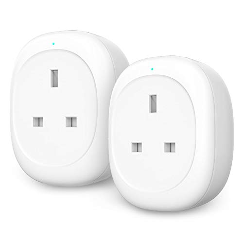 Smart Plug, Maxcio WiFi Plug Smart Socket with Energy Monitoring, App  Remote Control and Timer Function, Compatible with Alexa, Google Home and  IFTTT,
