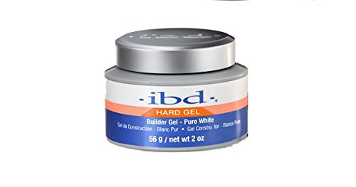 IBD Builder Gel – Hard – Pure Weiß 56 g/60 (Shine Sculpting Gel)