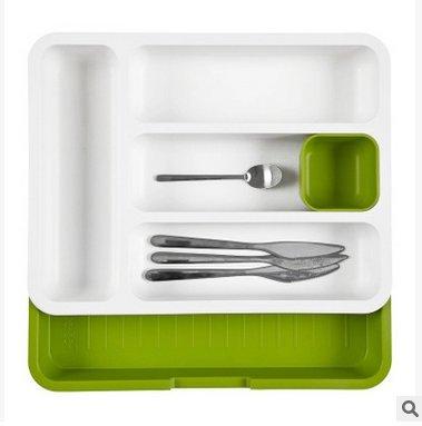 Organisateur/diviseurs tiroir extensible pour couverts, vaisselle fort distinctes, tiroir de rangement Organiseur, 28 * 36.2cm