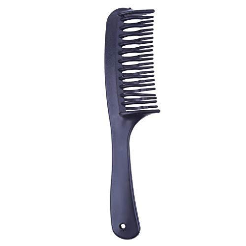 (GMZMM Stilvolle Kamm Unisex Multifunktions-Utility Kamm 22 Zähne Schwarz Kunststoff Massage Kamm Doppel Pinion Hair Styling Pflege Werkzeuge Professionelle Friseur Männer Kämmen für Hairstyling)