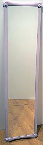 Spiegel Wandspiegel oder zum Aufstellen mit Bilderrahmen aus Holz lackiert pink. Größe cm. 35x 137. Made in Italy. Haken bereits...
