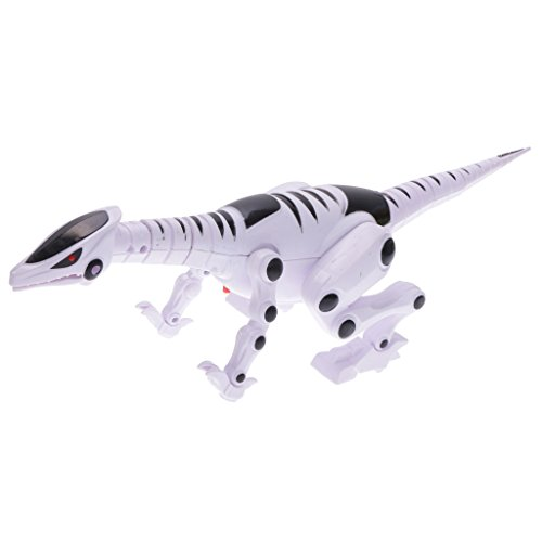 MagiDeal Roboter Dinosaurier Spielzeug, 37 x 10 x 10.5 cm, mit Blinklicht und knurrend Ton, Kinder Weinachten Geschenke