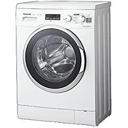 Panasonic NA-106VC5WTA freestanding Front-load 6kg 1000RPM A+ White washing machine - washing machines (Freestanding, Front-load, White, Left, LED, 140°)