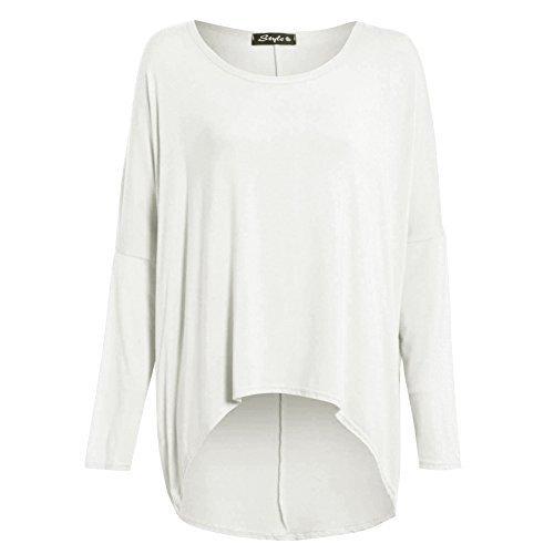 Be Jealous-mangas para mujer, en mochila, largo de deporte cortos que los hombros pasos Extensible amplio. Crema 36