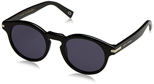 Marc Jacobs Herren Marc 184/S IR 807 49 Sonnenbrille, Black/Grey Blue