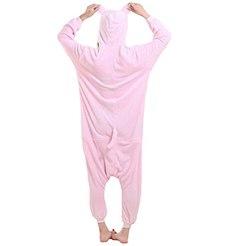 ANDAY Cartoon Tier Onesie Jumpsuits Damen Herren Pyjama Nachtwäsche Halloween Cosplay Schlafanzug Kleidung Schweine