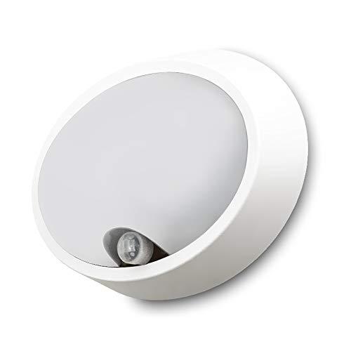 LED Außen-Wandleuchte RUBI 12W, 12W 840lm IP65 mit Bewegungs-Melder, Infrarot-Sensor/zur Außenbeleuchtung von Wänden, Wegen, Eingängen Deckenleuchte, Wegeleuchte, Wand-Leuchte -