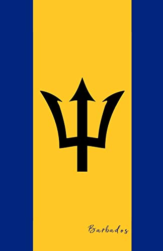 Barbados: Flag Notebook, Travel Journal to write in, College Ruled Journey Diary (Cave Girl Island)