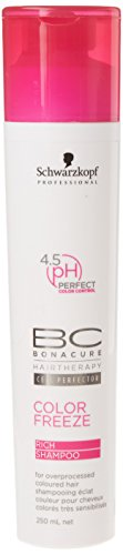 Schwarzkopf Bonacure Color Freeze Shampoo, 1er Pack (1 x250 ml)