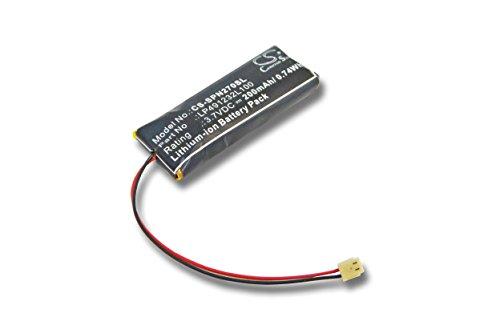 vhbw Batería de polímero de litio 200mAh (3.7V) para videoconsola Sony Playstation Portable Go PSP-N270, PSP-N270G como LP491232L100.