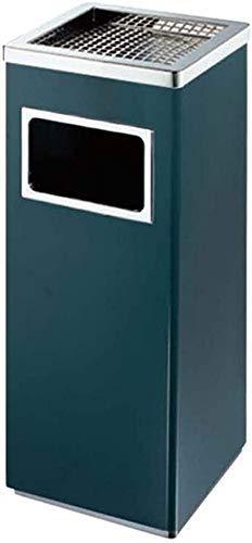 CY&WIN Contenedor de Basura Interior Acero Inoxidable Cubo Interior de plástico antihuellas para basurero...