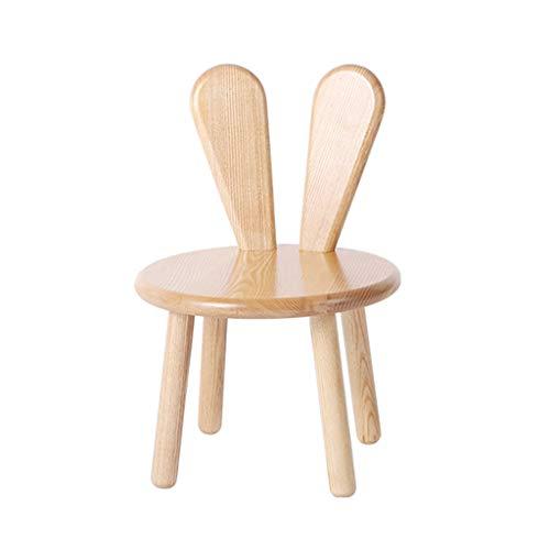PXDZ1 Fußhocker Hocker Massivholz Baby Hocker Cartoon Kinderhocker Kindergartensitz Stuhl - Esche Gepolstert Stuhl